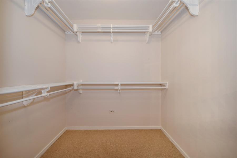 Real Estate Photography - 208 W. WASHINGTON Street, Unit 1013, Chicago, IL, 60606 - Master Bedroom Closet