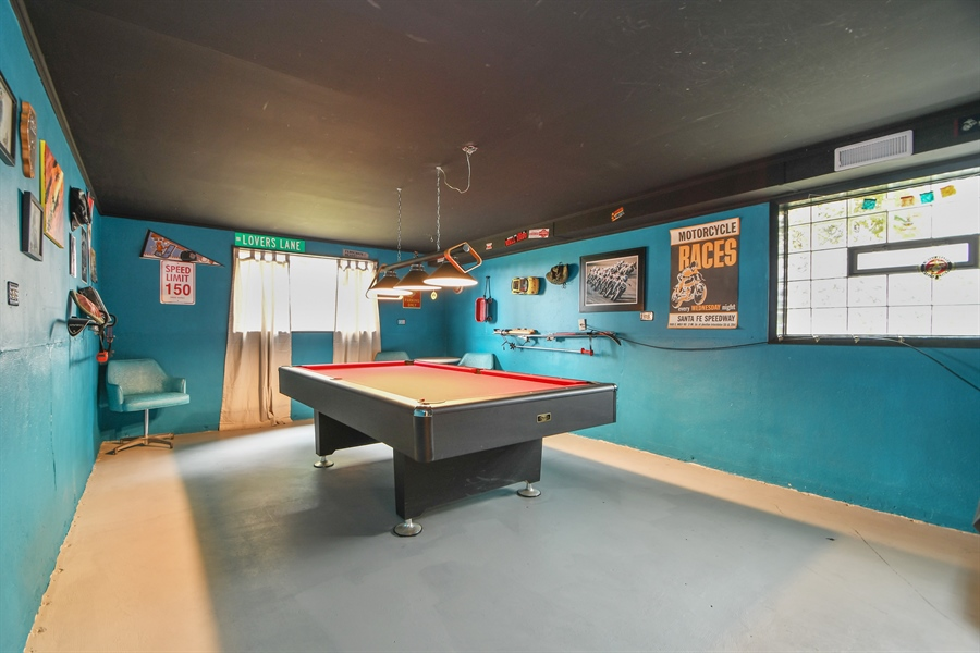 Real Estate Photography - 137 Westwood Drive, Park Forest, IL, 60466 - Recreational Room
