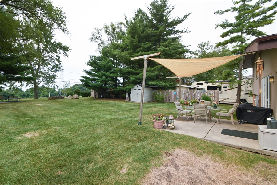 Real Estate Photography - 137 Westwood Drive, Park Forest, IL, 60466 - Back Yard
