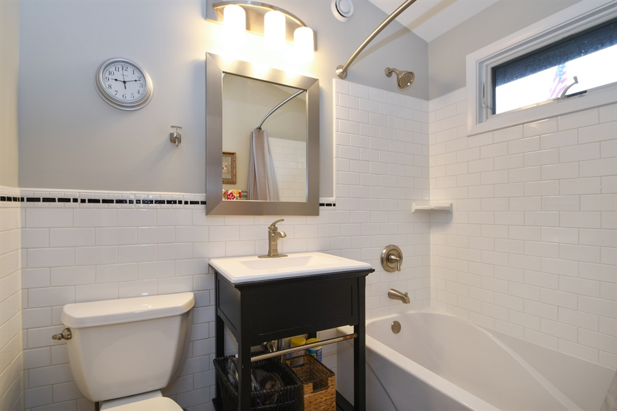 Real Estate Photography - 137 Westwood Drive, Park Forest, IL, 60466 - Bathroom
