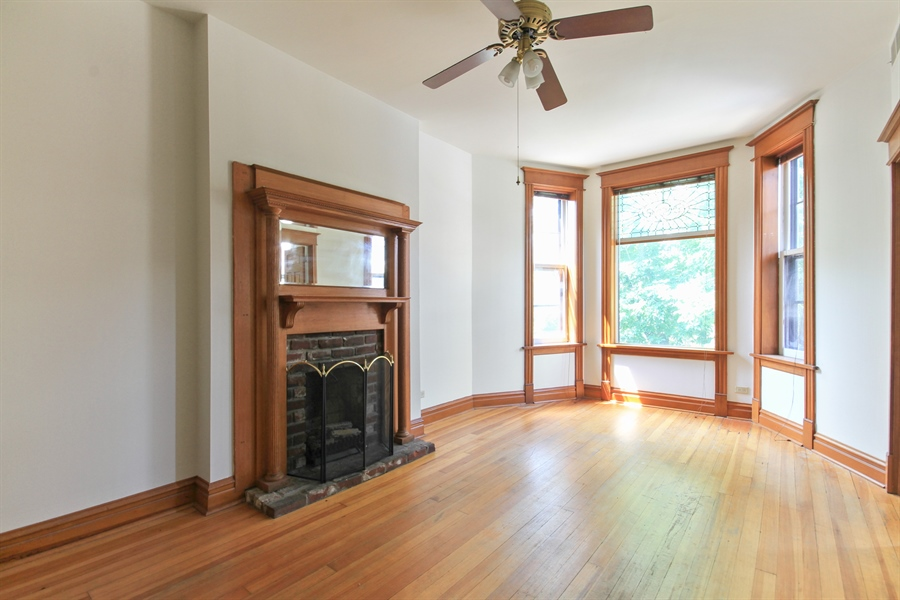 Real Estate Photography - 1531 N. North Park Avenue, Chicago, IL, 60610 - Living Room