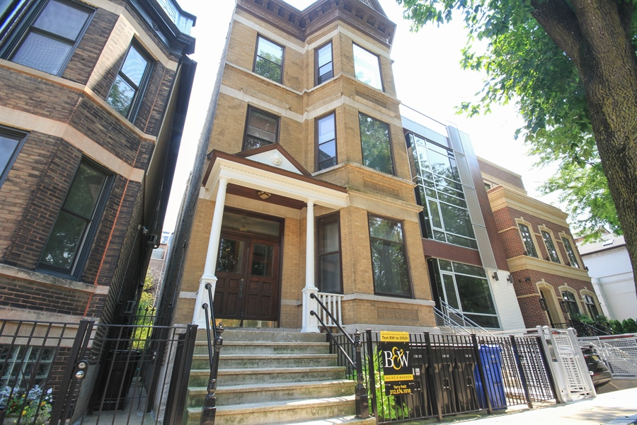 Real Estate Photography - 1531 N. North Park Avenue, Chicago, IL, 60610 - Front View