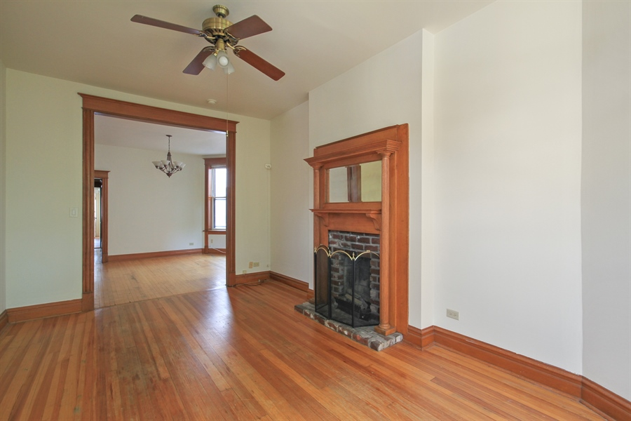 Real Estate Photography - 1531 N. North Park Avenue, Chicago, IL, 60610 - Living Room / Dining Room