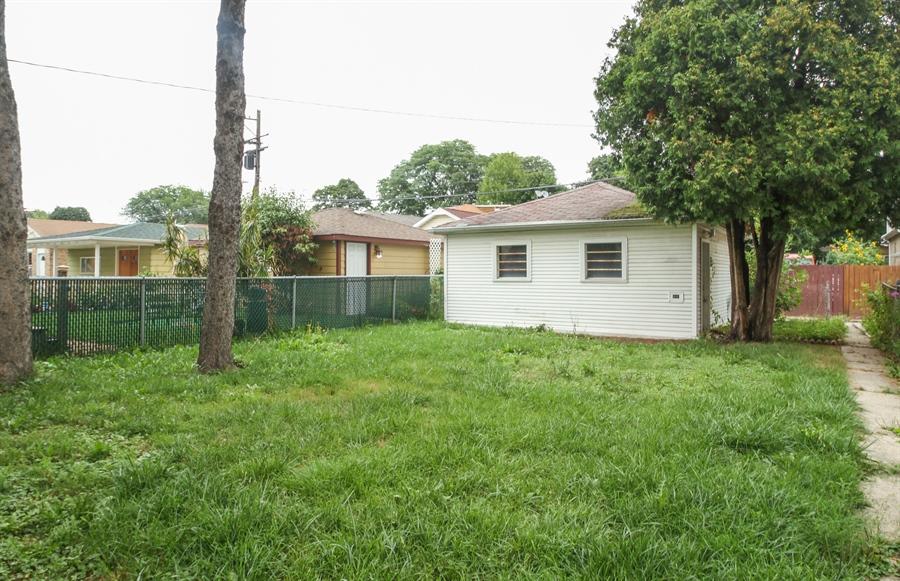 Real Estate Photography - 4917 N. KOSTNER Avenue, Chicago, IL, 60630 - Back Yard