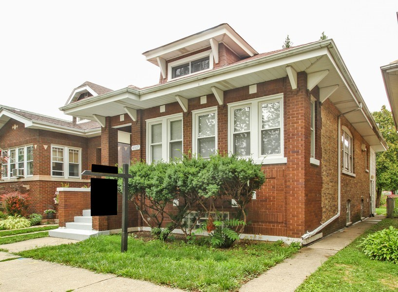 Real Estate Photography - 4917 N. KOSTNER Avenue, Chicago, IL, 60630 - Front View