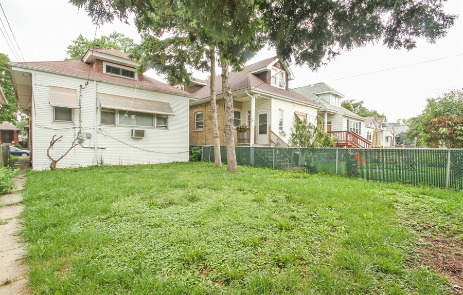 Real Estate Photography - 4917 N. KOSTNER Avenue, Chicago, IL, 60630 - Rear View