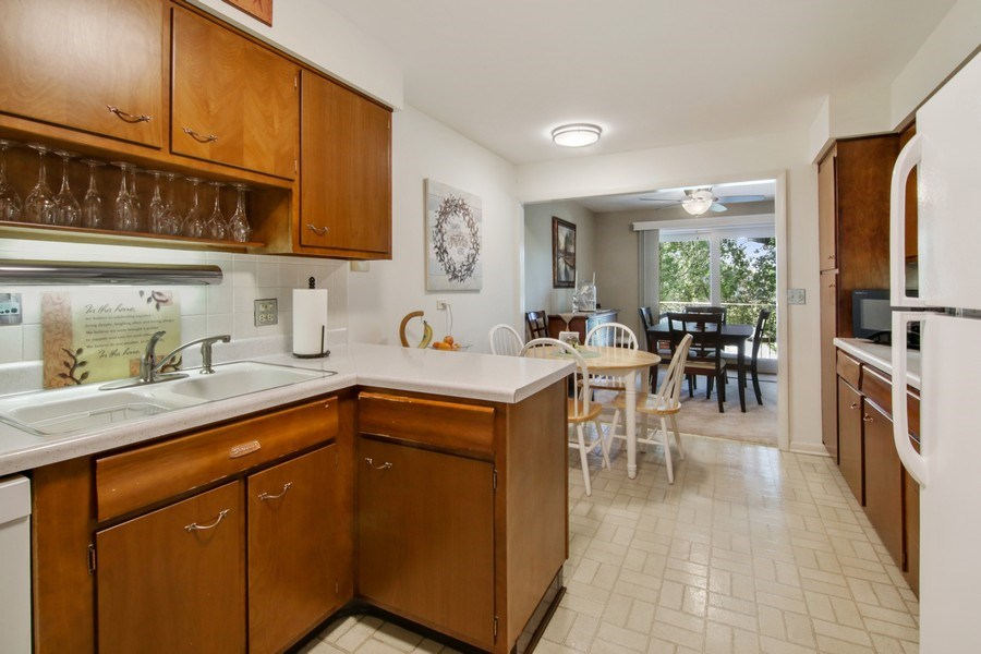 Real Estate Photography - 100 N. Regency Drive, Unit 203, Arlington Heights, IL, 60004 - Kitchen