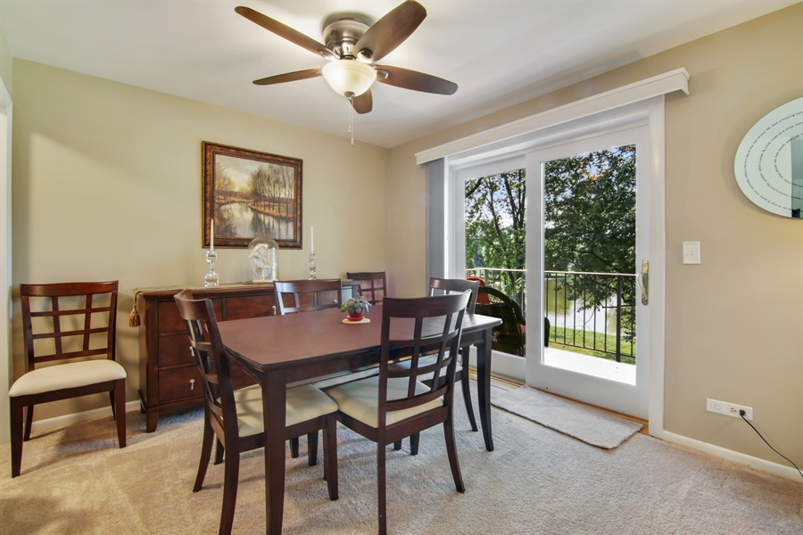 Real Estate Photography - 100 N. Regency Drive, Unit 203, Arlington Heights, IL, 60004 - Dining Room