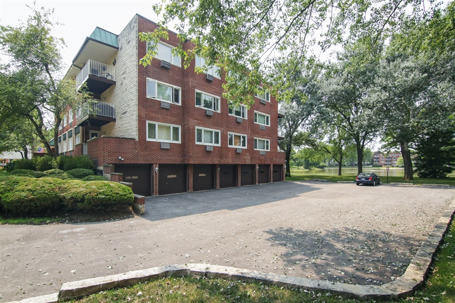 Real Estate Photography - 100 N. Regency Drive, Unit 203, Arlington Heights, IL, 60004 - Garage & extra parking