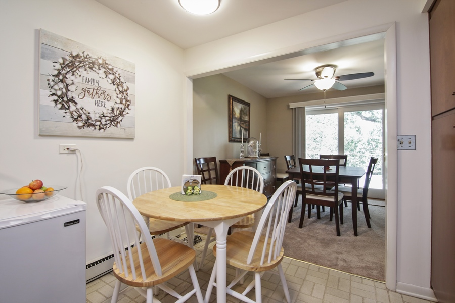 Real Estate Photography - 100 N. Regency Drive, Unit 203, Arlington Heights, IL, 60004 - Breakfast Area