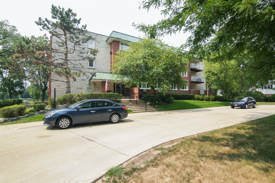 Real Estate Photography - 100 N. Regency Drive, Unit 203, Arlington Heights, IL, 60004 - Front View