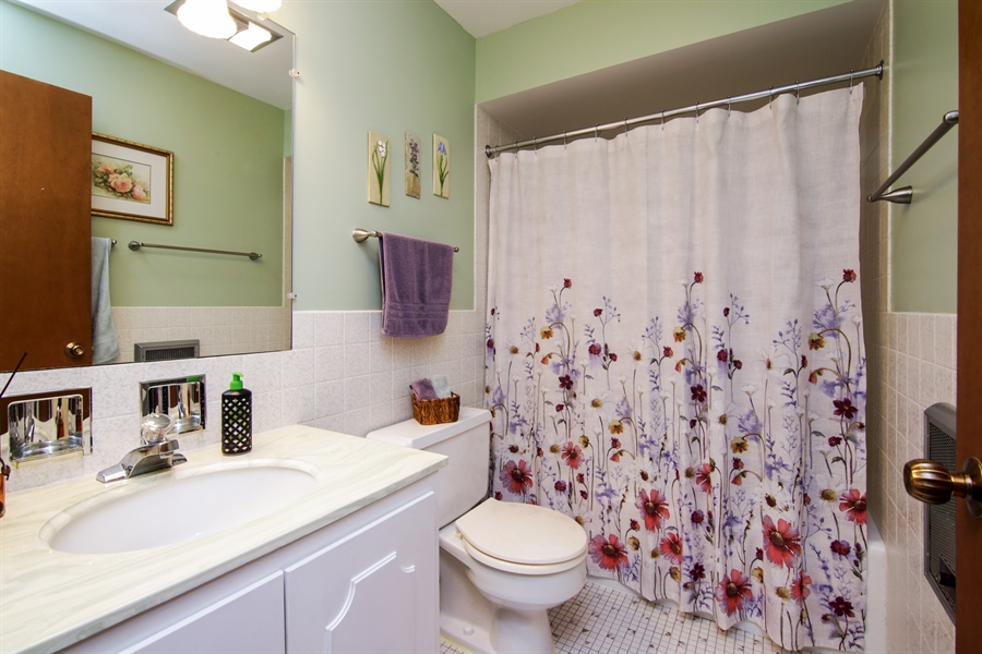Real Estate Photography - 100 N. Regency Drive, Unit 203, Arlington Heights, IL, 60004 - Bathroom