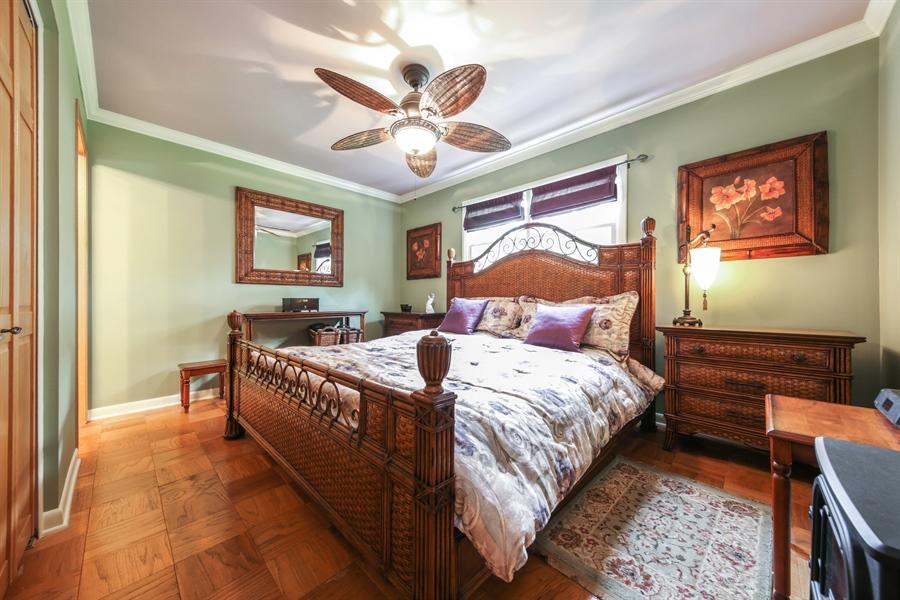 Real Estate Photography - 2310 Birchwood Parkway, Woodridge, IL, 60517 - Master Bedroom