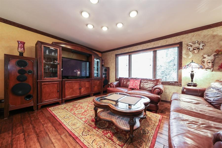 Real Estate Photography - 2310 Birchwood Parkway, Woodridge, IL, 60517 - Family Room