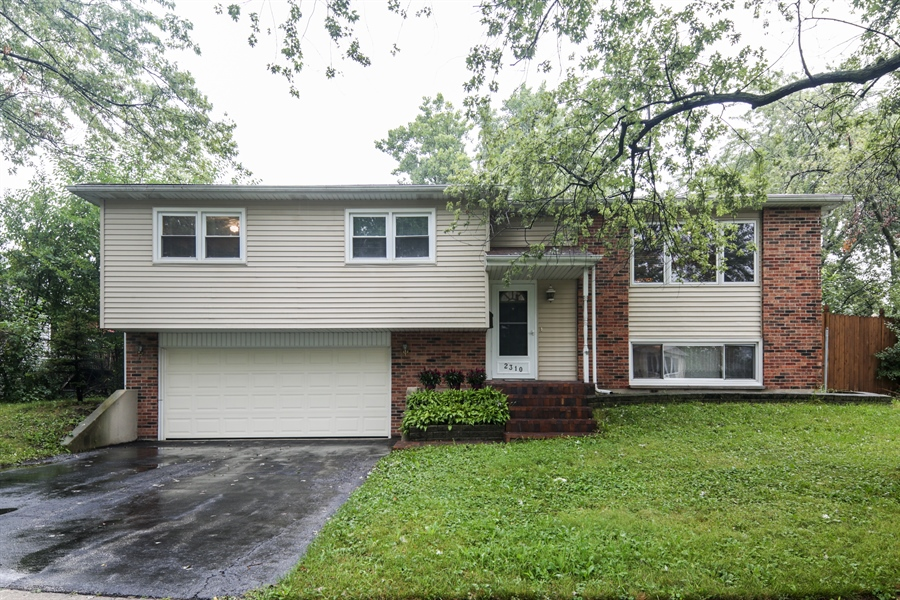 Real Estate Photography - 2310 Birchwood Parkway, Woodridge, IL, 60517 - Front View