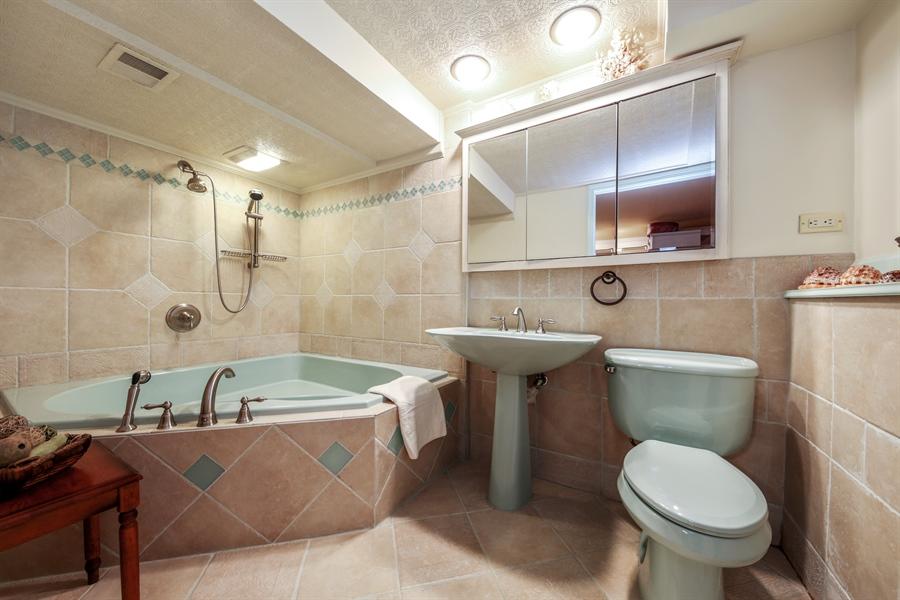 Real Estate Photography - 2310 Birchwood Parkway, Woodridge, IL, 60517 - 2nd Bathroom