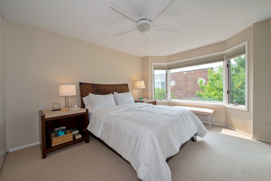 Real Estate Photography - 1853 N. HUDSON Avenue, Chicago, IL, 60614 - Master Bedroom