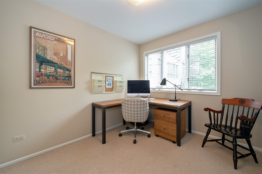 Real Estate Photography - 1853 N. HUDSON Avenue, Chicago, IL, 60614 - 3rd Bedroom