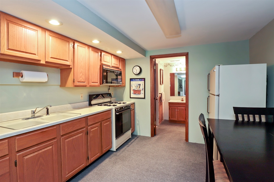 Real Estate Photography - 24450 CHEROKEE Trail, Grayslake, IL, 60030 - 2nd Kitchen-Basement