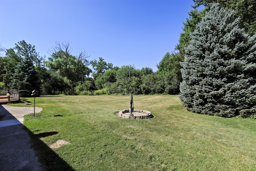Real Estate Photography - 24450 CHEROKEE Trail, Grayslake, IL, 60030 - Back Yard