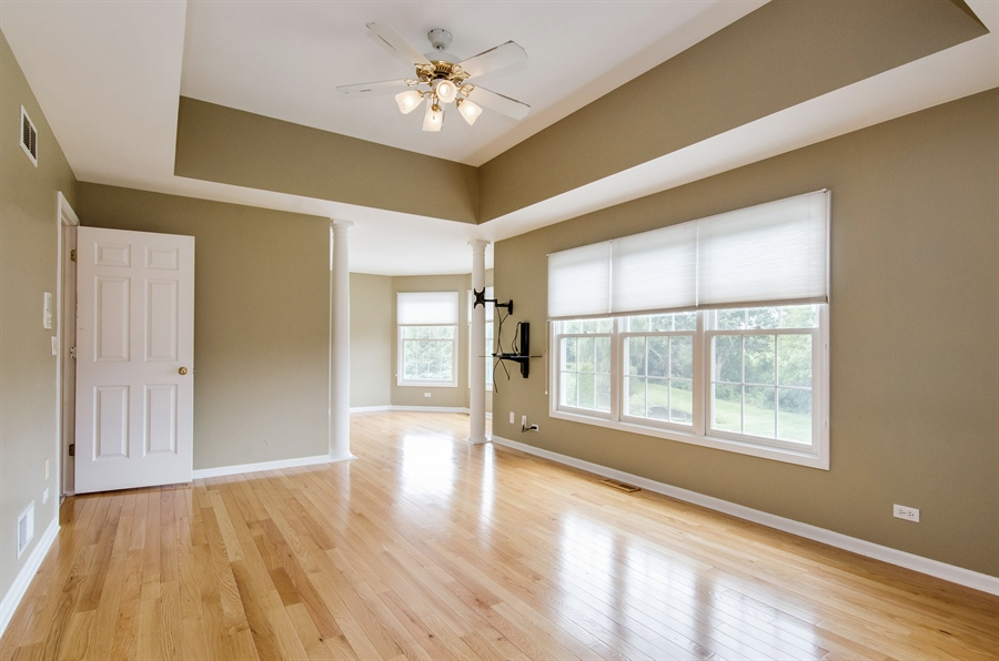Real Estate Photography - 7105 Cupola Court, Cary, IL, 60013 - Master Bedroom