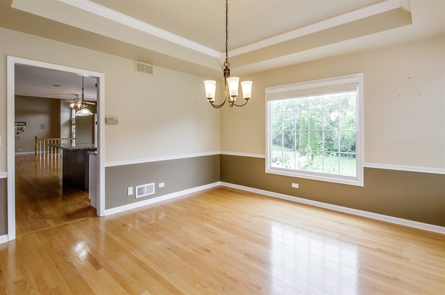 Real Estate Photography - 7105 Cupola Court, Cary, IL, 60013 - Dining Room