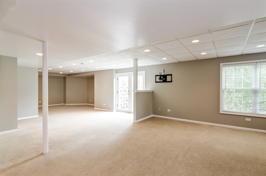 Real Estate Photography - 7105 Cupola Court, Cary, IL, 60013 - Basement