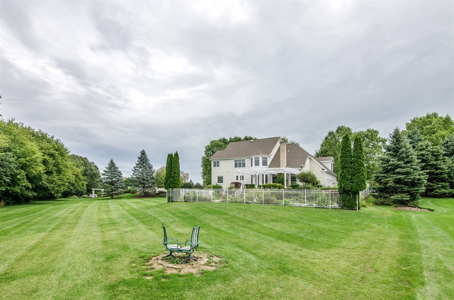 Real Estate Photography - 7105 Cupola Court, Cary, IL, 60013 - Rear View