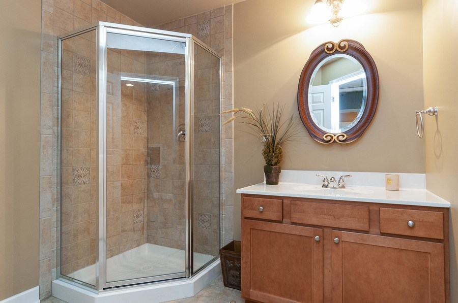 Real Estate Photography - 2215 Skylane Dr, Naperville, IL, 60564 - 3rd Bathroom