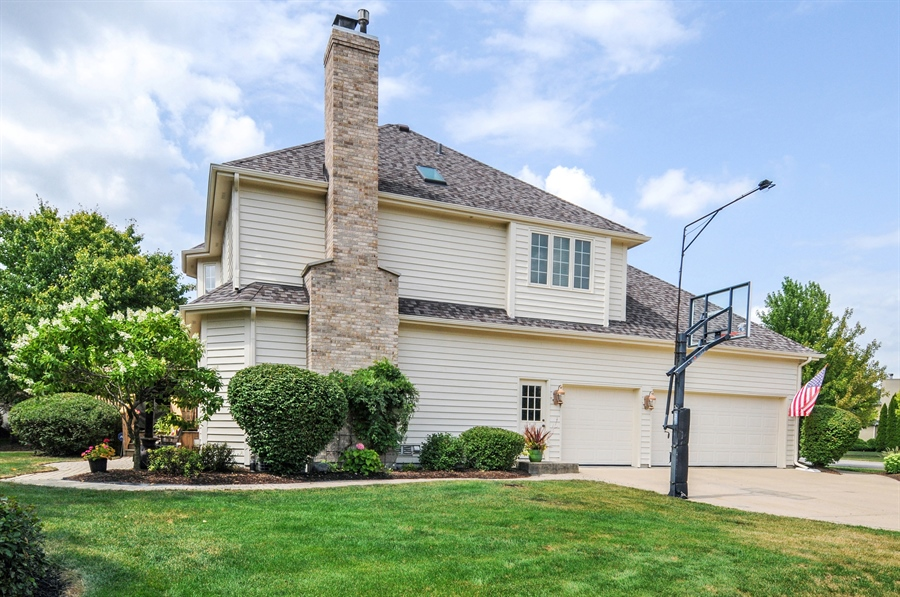 Real Estate Photography - 2215 Skylane Dr, Naperville, IL, 60564 - Side View