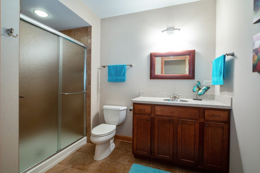 Real Estate Photography - 2410 Timberline Trail, Woodstock, IL, 60098 - 3rd Bathroom