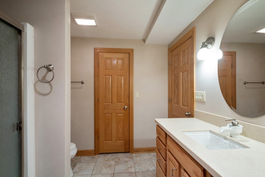Real Estate Photography - 2410 Timberline Trail, Woodstock, IL, 60098 - 4th Bathroom