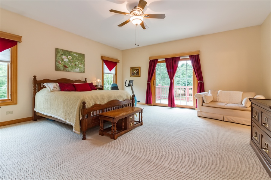 Real Estate Photography - 2410 Timberline Trail, Woodstock, IL, 60098 - Master Bedroom