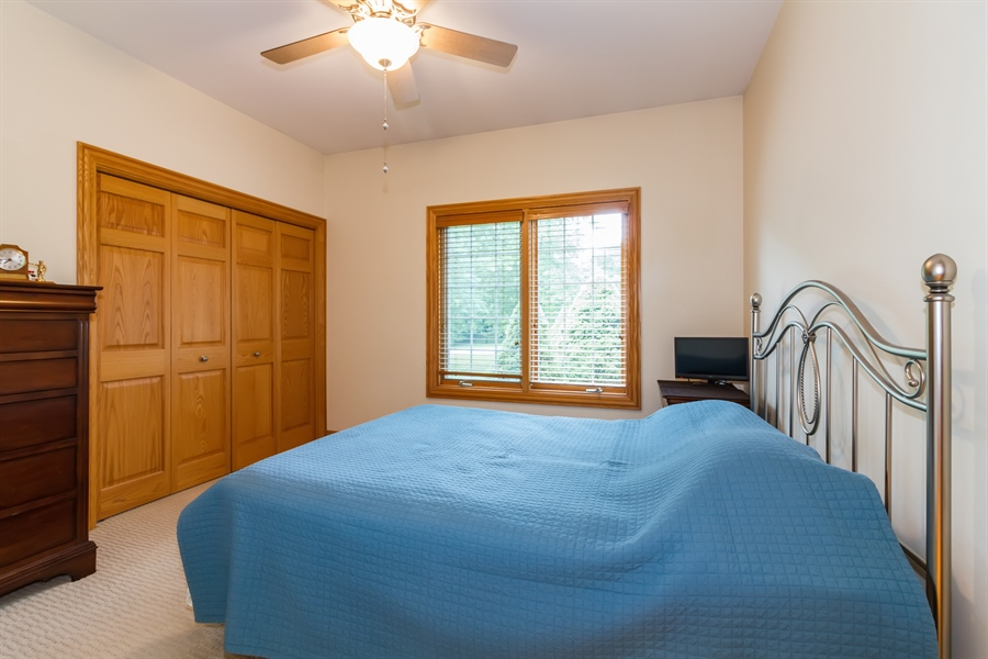 Real Estate Photography - 2410 Timberline Trail, Woodstock, IL, 60098 - 2nd Bedroom