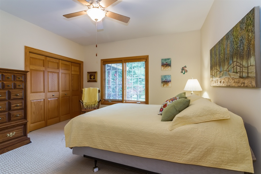 Real Estate Photography - 2410 Timberline Trail, Woodstock, IL, 60098 - 3rd Bedroom