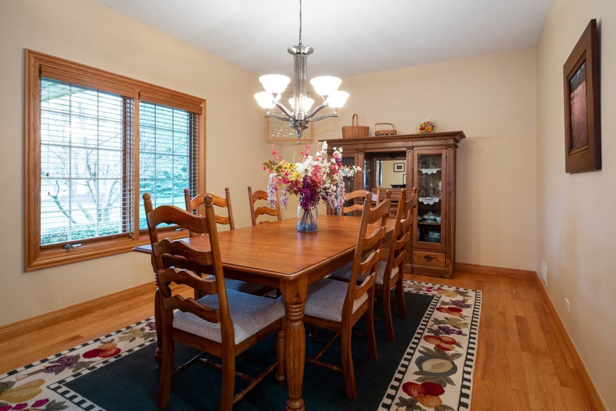 Real Estate Photography - 2410 Timberline Trail, Woodstock, IL, 60098 - Dining Room