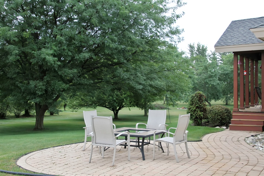 Real Estate Photography - 2410 Timberline Trail, Woodstock, IL, 60098 - Patio