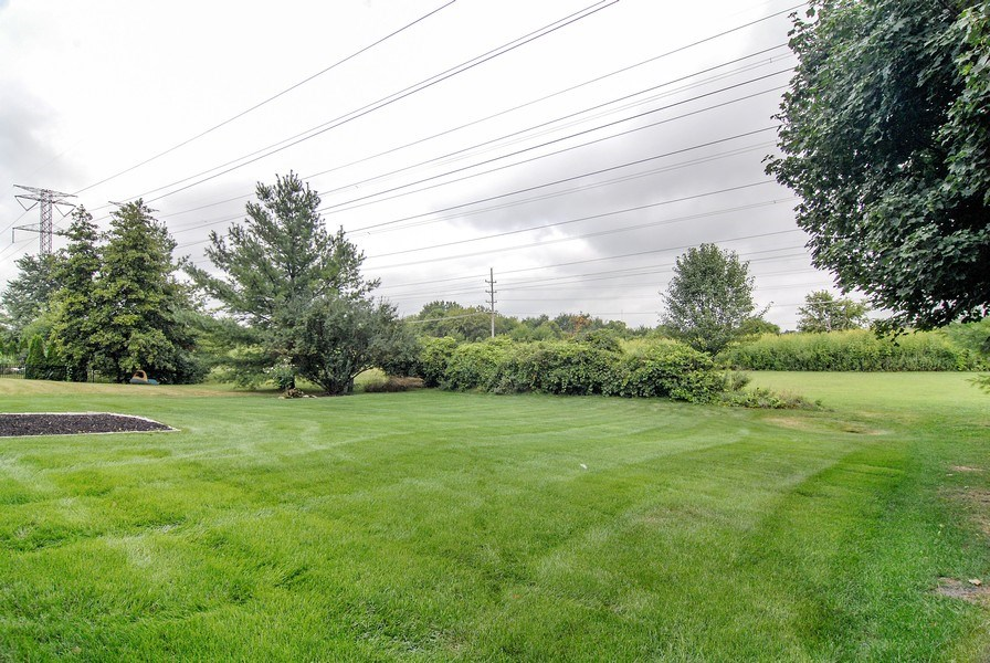 Real Estate Photography - 2534 Brookstone Court, Aurora, IL, 60502 - Back Yard