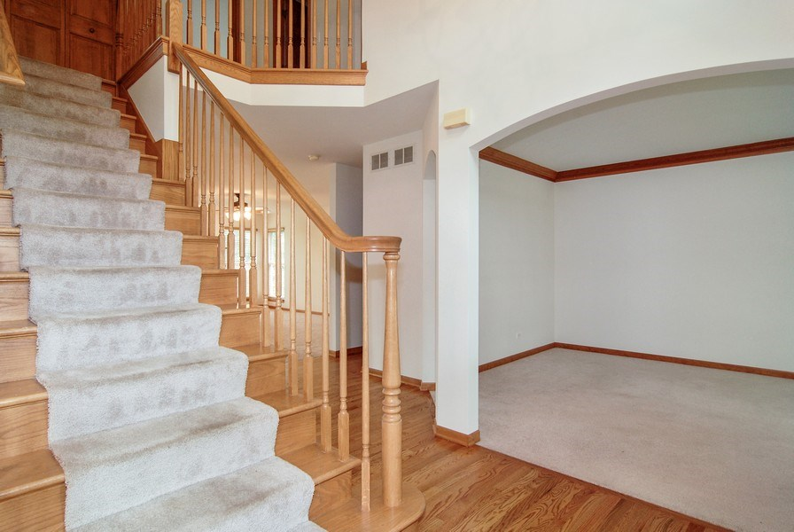 Real Estate Photography - 2534 Brookstone Court, Aurora, IL, 60502 - Foyer