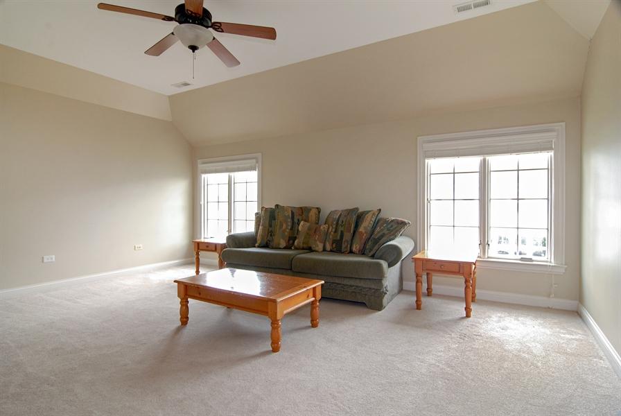 Real Estate Photography - 1144 Beed Avenue, Elburn, IL, 60119 - Bonus Room