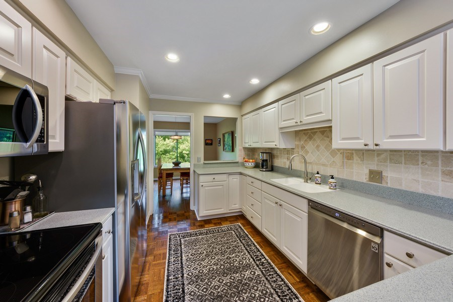 Real Estate Photography - 818 Golf Lane, Lake Barrington, IL, 60010 - Kitchen / Dining Room