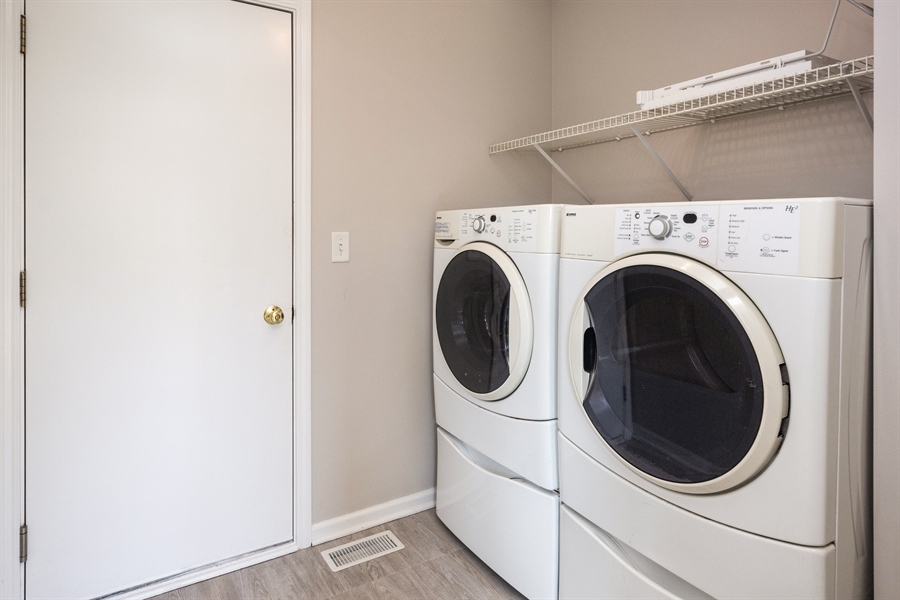 Real Estate Photography - 1806 Chapman Drive, Plainfield, IL, 60586 - Laundry Room