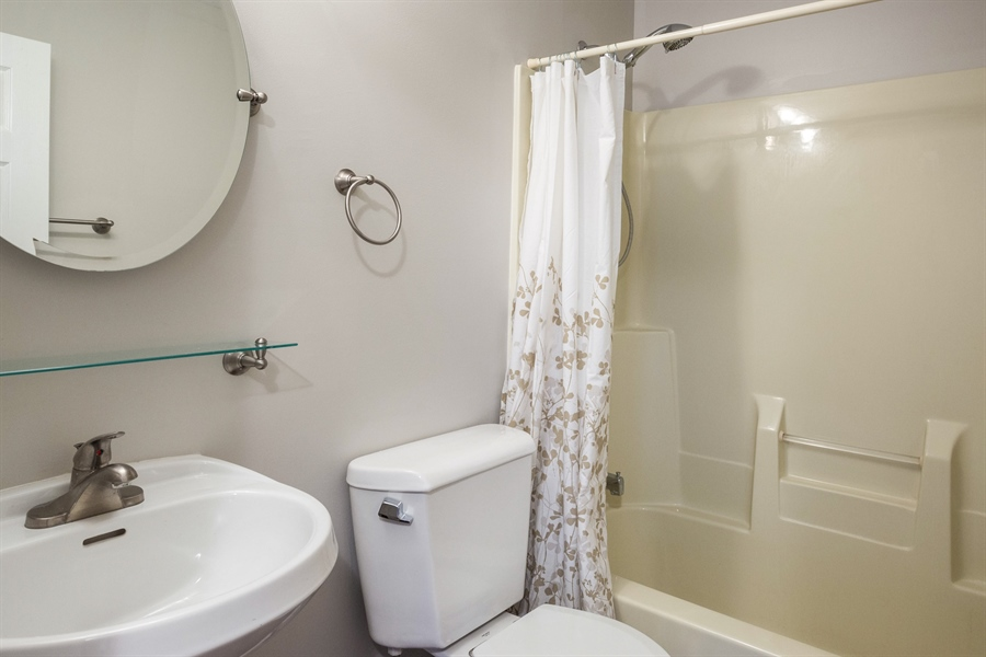 Real Estate Photography - 1806 Chapman Drive, Plainfield, IL, 60586 - Bathroom