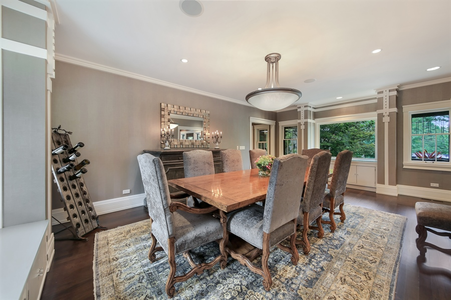 Real Estate Photography - 682 Crescent Blvd, Glen Ellyn, IL, 60137 - Dining Room