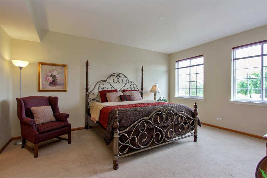 Real Estate Photography - 1034 Orchard Pond Ct, Lake Zurich, IL, 60047 - Master Bedroom
