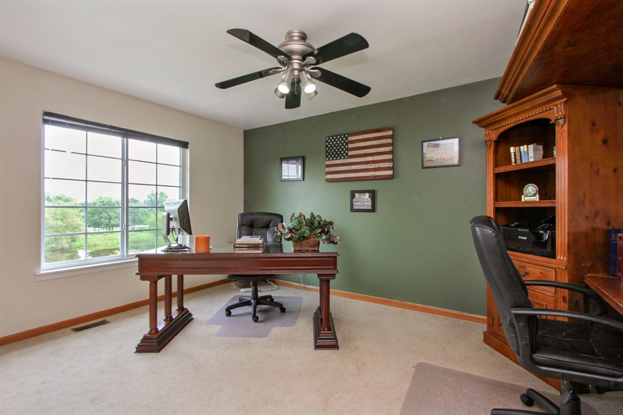 Real Estate Photography - 1034 Orchard Pond Ct, Lake Zurich, IL, 60047 - 2nd Bedroom