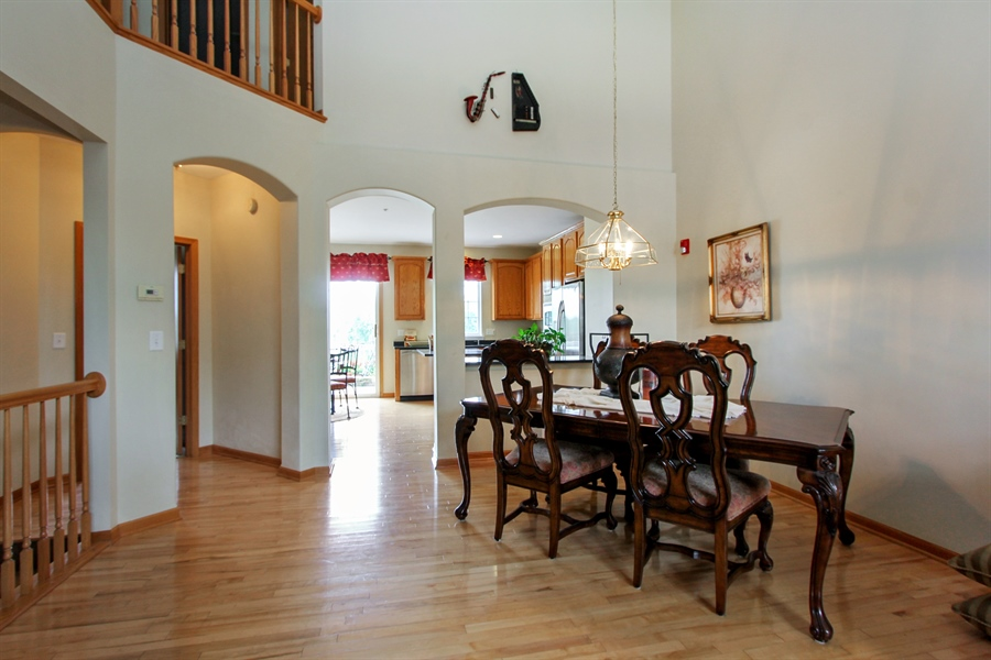 Real Estate Photography - 1034 Orchard Pond Ct, Lake Zurich, IL, 60047 - Dining Room