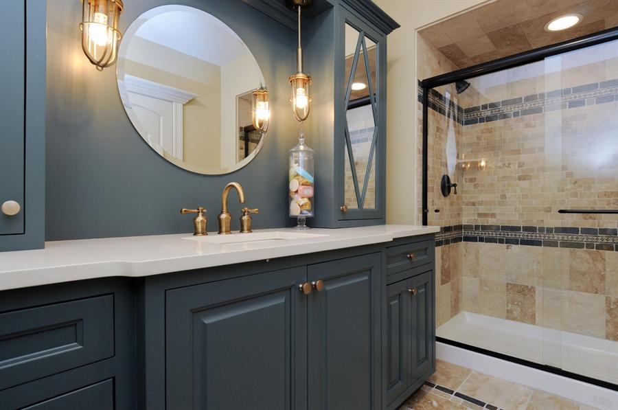 Real Estate Photography - 12461 BRIGHTON Lane, Plainfield, IL, 60585 - Basement Bath
