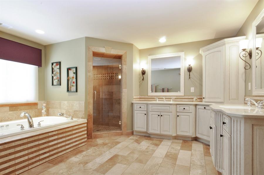 Real Estate Photography - 12461 BRIGHTON Lane, Plainfield, IL, 60585 - Master Bathroom