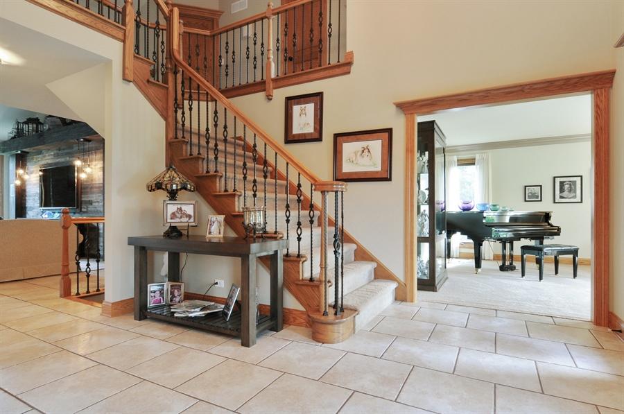 Real Estate Photography - 12461 BRIGHTON Lane, Plainfield, IL, 60585 - Foyer